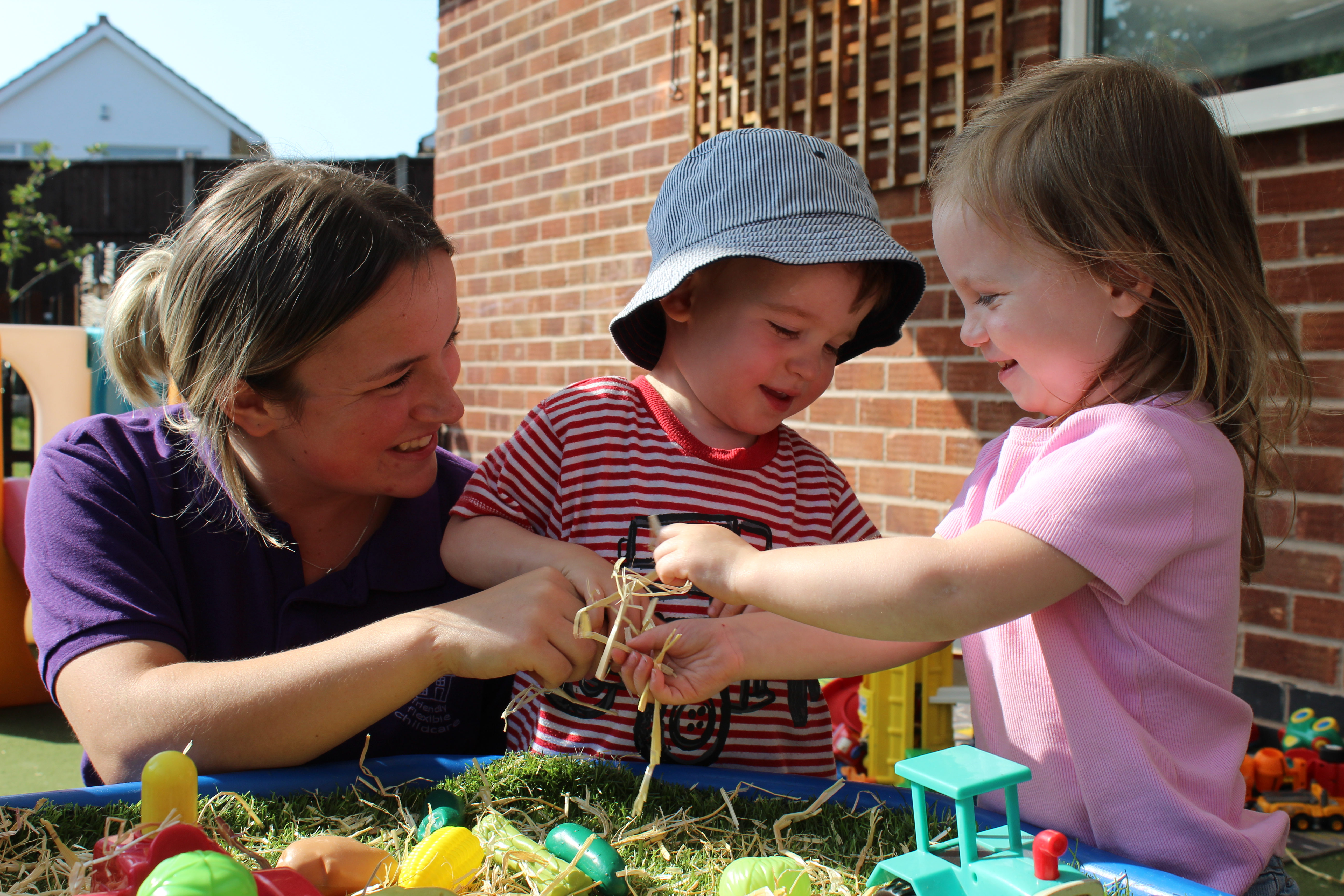 How nursery helps your child's social development