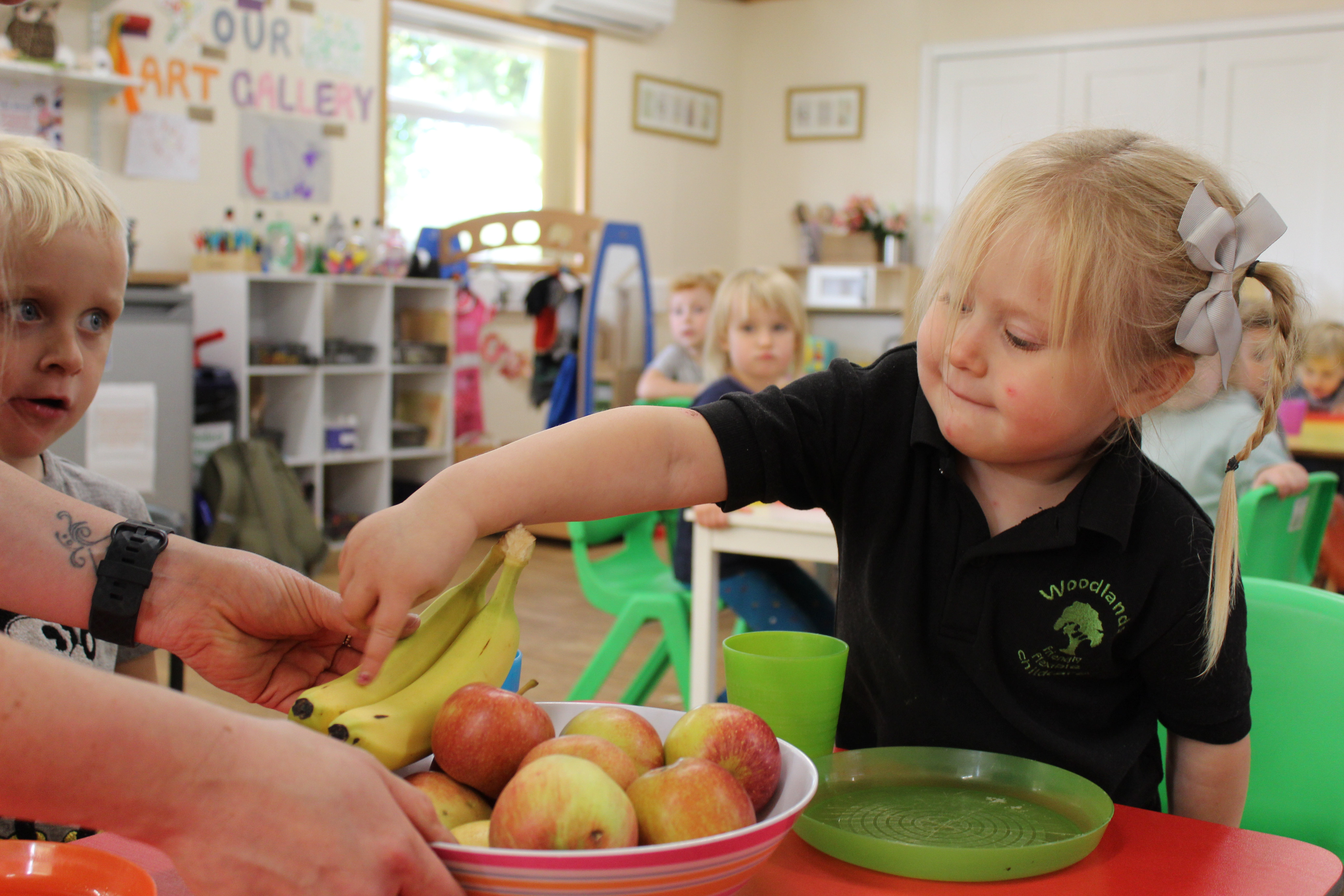 How nursery helps your child's transition to school