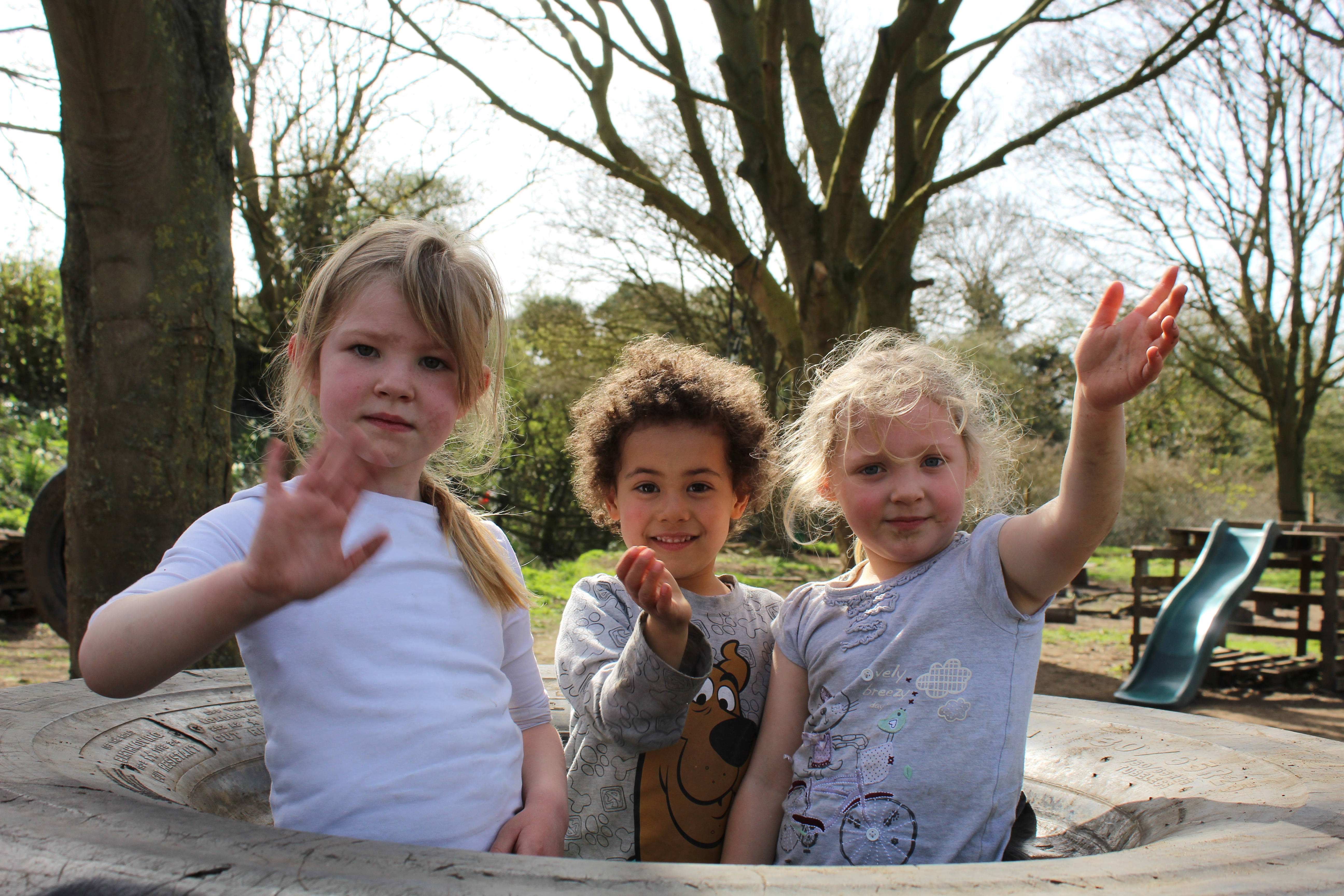 Six ways that Woodlands uses outdoor play to help your child grow
